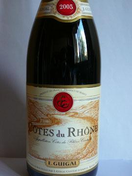Côtes du Rhône, Guigal, 2005