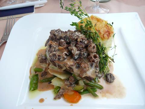 Restaurant Port de Pully Filet de boeuf aux morilles