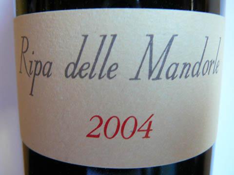 Ripa delle Mandorle, Toscana IGT, 2004