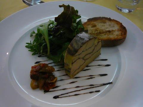 Pressé de foie gras aux épices