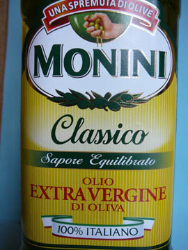 Huile d'Olive Extra Vierge Classico Monini