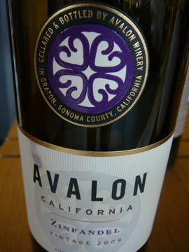 Zinfandel Avalon, 2009