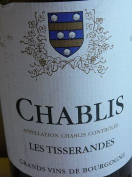 Chablis Les Tisserandes, 2009
