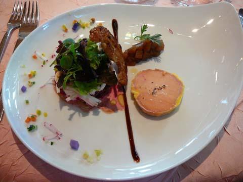 Foie gras de canard au torchon