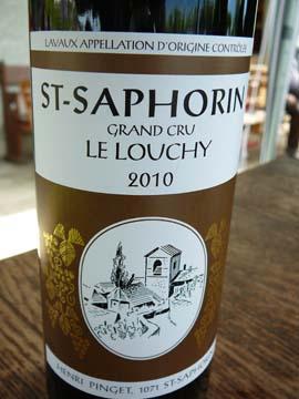 Saint-Saphorin Le Louchy 2010