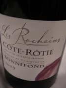 Domaine Bonnefond Côte-Rôtie Les Rochains 2009