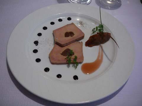 Terrine de foie gras de canard maison aux figues