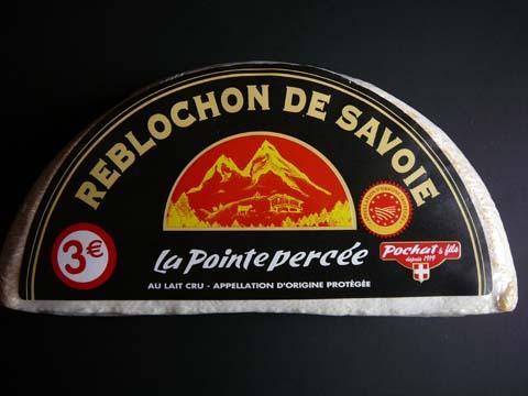 Reblochon AOP, La Pointe Percée, Pochat & Fils