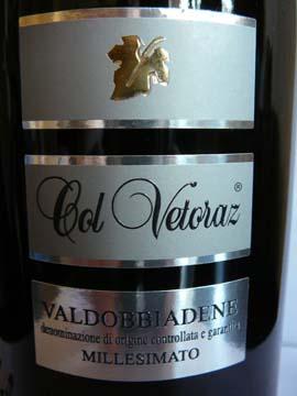 Col Vetoraz Dry Millesimato 2010