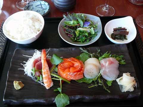 Plateau de sashimi