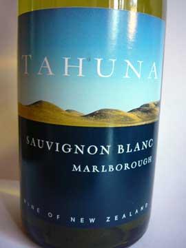 Marlborough Sauvignon Blanc, Tahuna