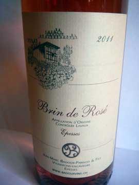 Brin de Rosé 2011