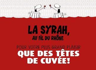 La Syrah au fil du Rhône, Saint-Maurice