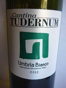 Tudernum Umbria Bianco 2012