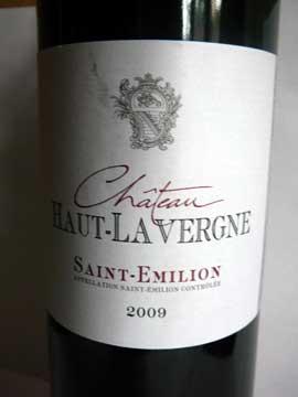 Château Haut-Lavergne 2009