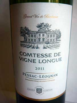 Comtesse de Vigne Longue 2011
