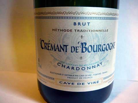 Crémant de Bourgogne Brut, Cave de Viré