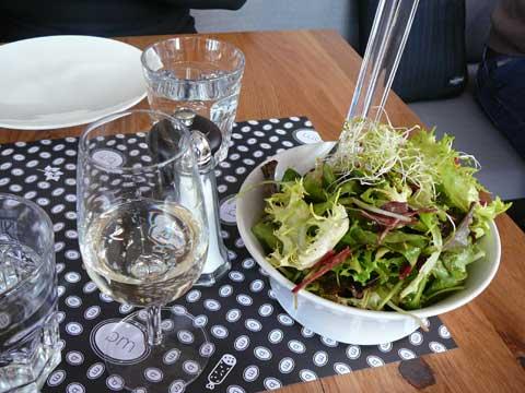 Le saladier : mesclun de salade
