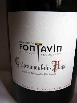 Châteauneuf-du-Pape Cuvée David & Goliath 2009
