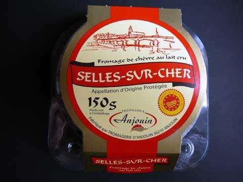 Fromage Selles-sur-Cher Anjouin