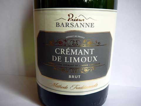 Crémant de Limoux Prieur Barsanne Brut