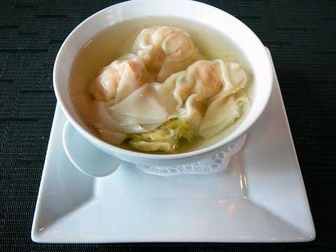 Restaurant Kikuzen, Morges : Potage aux raviolis