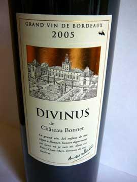 Divinus de Château Bonnet 2005