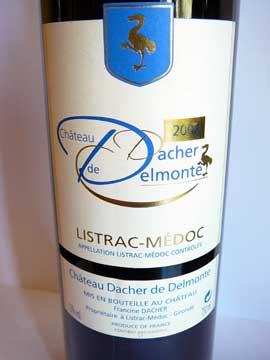 Château Dacher de Delmonte 2008