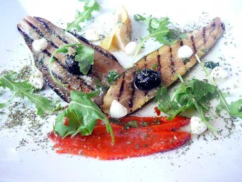 Antipasti de légumes grillés