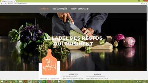 """Un label """"Fait Maison"""" pour les restaurants romands"""