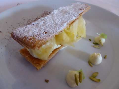 Mille-feuille à l'ananas