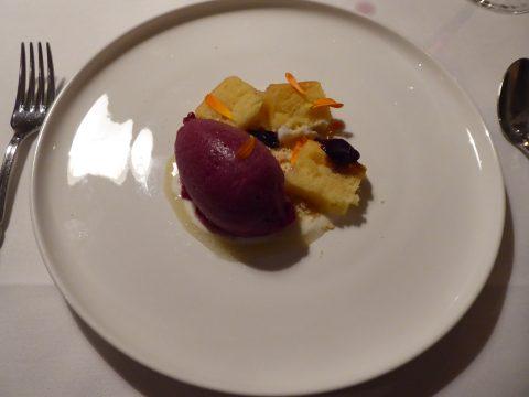 Variation sur le raisin uva americana