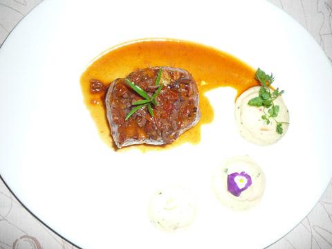 Pièce de bœuf Simmental au foin