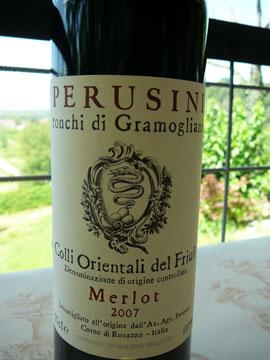 Merlot Colli Orientali del Friuli Perusini 2007