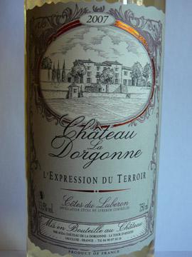 Chateau  Dorgonne Expression Blanc 2007