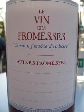 Le Vin des Promesses
