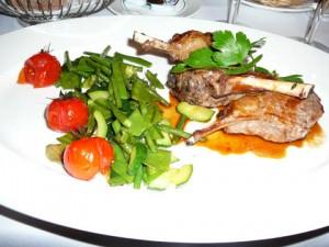 Côtelettes d'agneau à la Provençale