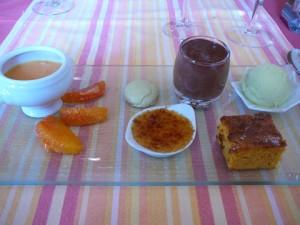 Déclinaison de dessert