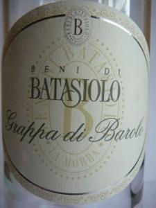 Grappa di Barolo, Batasiolo
