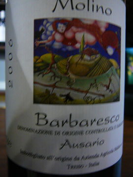 Barbaresco Ausario, Molino 2006