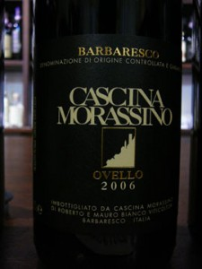 Barbaresco Ovello, Cascina Morassino 2006