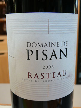 Domaine de Pisan 2006