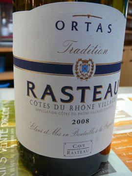 Rasteau Tradition 2008