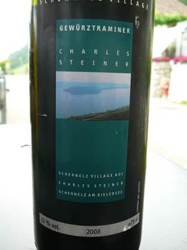 Gewurztraminer, Charles Steiner, Schernelz, 2008
