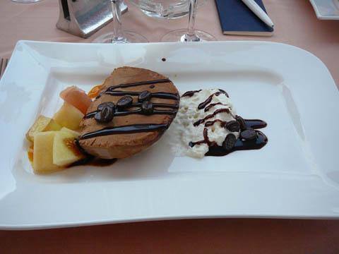 Restaurant Port de Pully Semifreddo au café Arabica