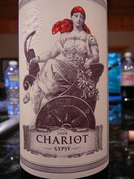 Chariot, California Red Wine, 2008