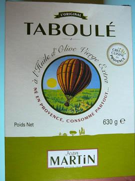 Taboulé Jean Martin