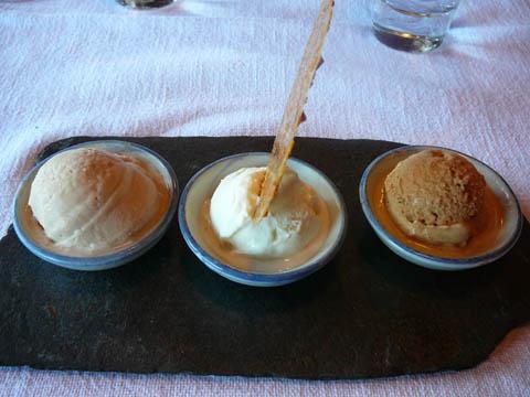 Trio de glaces