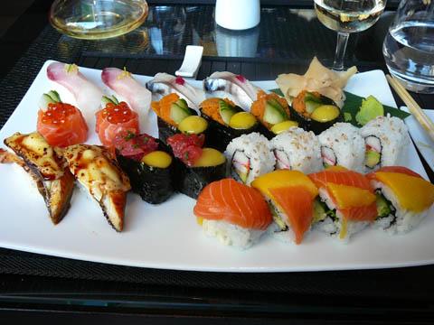 Choix de sushis