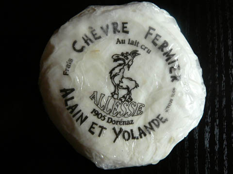 Chèvre fermier au lait cru Allesse